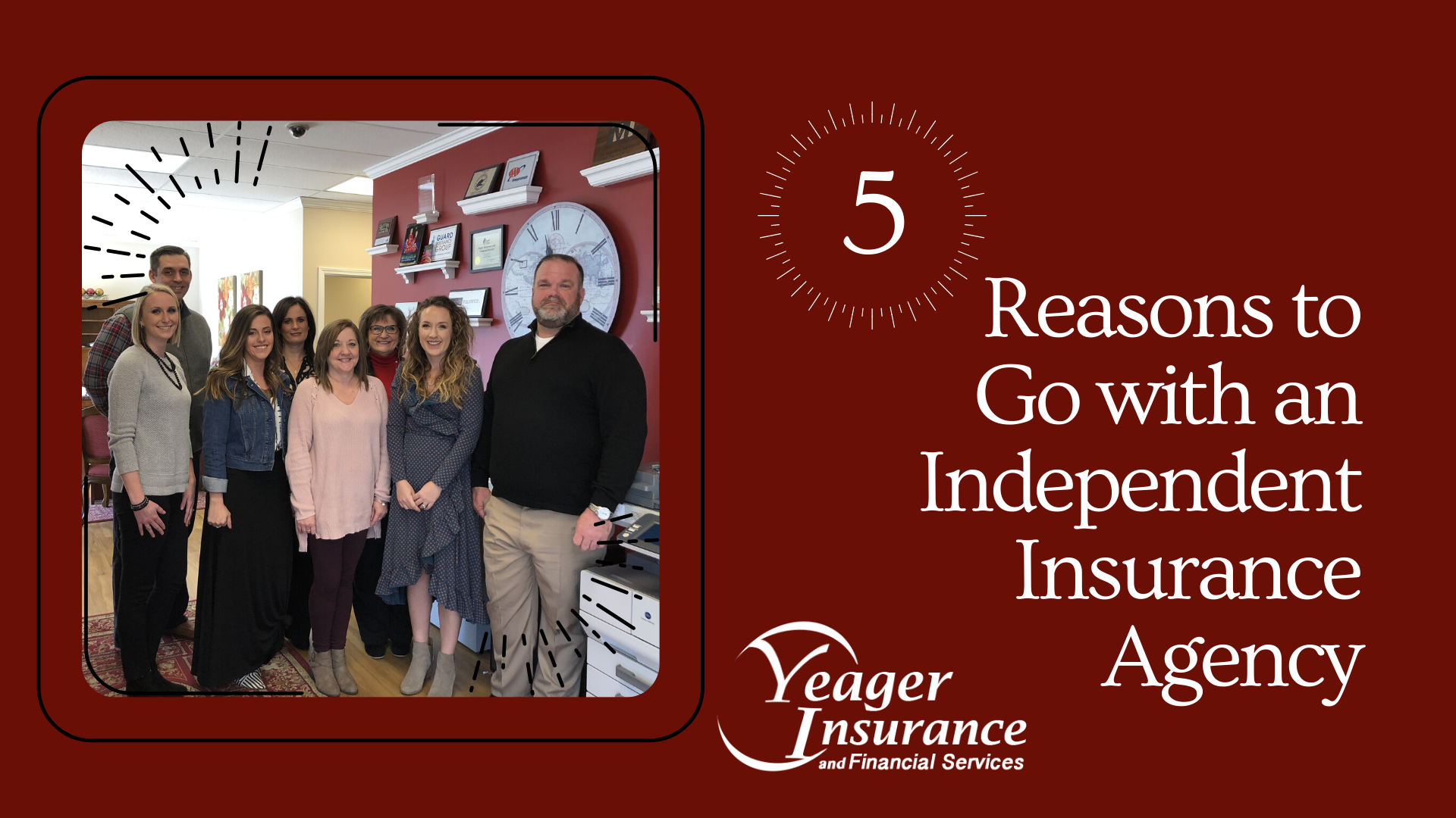 Top 5 Reason to Go with an Independent Insurance Agency